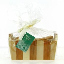 Set cadeau en bois - soins du bain