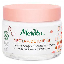 "Baume confort haute nutrition Bio ""Nectar de miels"" 50 ml"