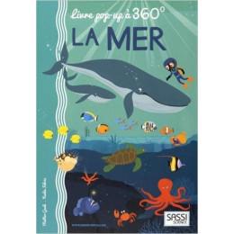 Livre Pop up 360° La mer - à partir de 5 ans