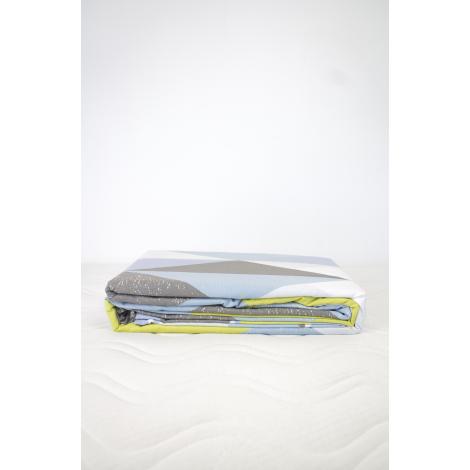 housse de couette 2 taies 60 x 60 cm coton bio losanges. Black Bedroom Furniture Sets. Home Design Ideas