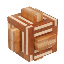 Casse-tête en bambou Quadrature - à partir de 12 ans