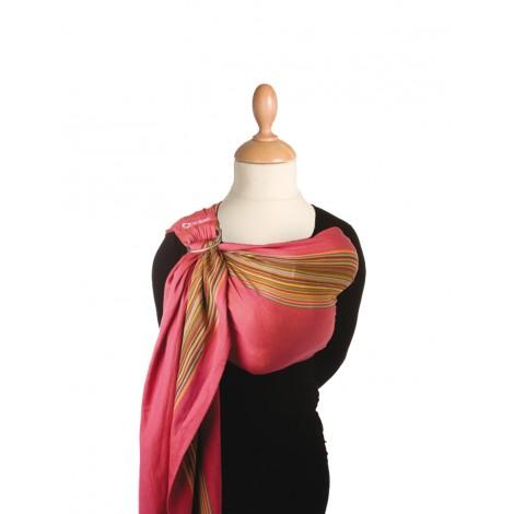 Echarpe porte-bébé BB Sling - unpadded - 973 - Pink Pepper