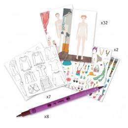 Atelier de mode - Dessiner une collection - à partir de 8 ans
