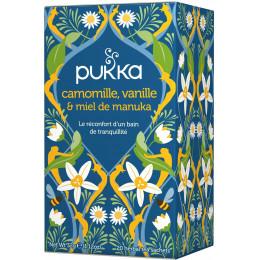 Infusion Camomille vanille miel de manuka 20 infusettes BIO