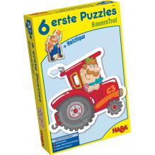 6 premiers puzzles 'La ferme' - à partir de 2 ans