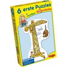 6 premiers puzzles 'Le chantier' - à partir de 2 ans