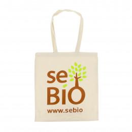 Sac Sebio à anses longues en coton Bio
