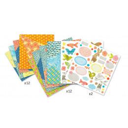 Origami 'Petites enveloppes' - à partir de 7 ans
