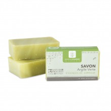 Savon Argile verte Essences de Garrigue 100 gr