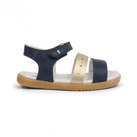 Sandales I-walk Craft - Trinity Navy + Misty Gold - 633101