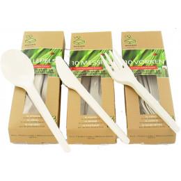 Cuillères compostables - Lot de 10
