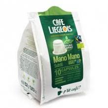 Café Bio  Mano Mano Subtil 10 Capsules 100 % compostables