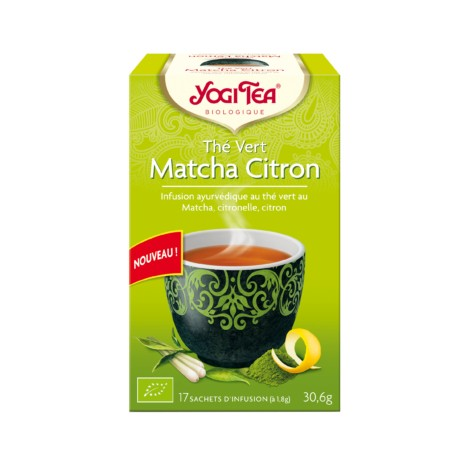 Thé vert Matcha Citron 17 sachets