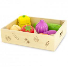 Légumes à découper en cageot 9 pièces - à partir de 18 mois