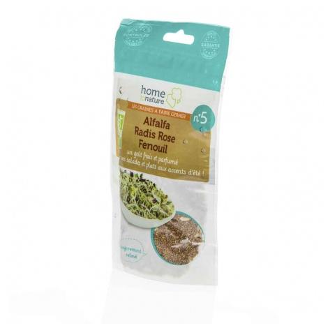 Mélange de graines à germer N°5 Effet frais 150 g