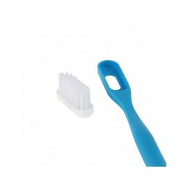 Brosse à dent rechargeable à tête médium écologique en bioplastique