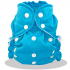 Couche lavable Turquoise Ste Lucie