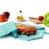 Pochette sandwich lavable et réutilisable Boc'n'Roll - Tiles Green