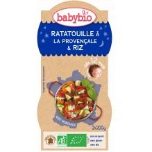 Ratatouille riz (dès 12 mois) 2 x 200 g