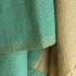 Fouta Sand en coton Bio Bleu alizé 100 x 200 cm