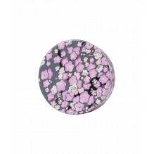 Bouchon washi pour théière en verre - Gris violet