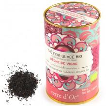 Thé noir glacé Bio Pêche de vigne - 100 g