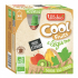 Cool Fruits - Banane Kiwi Epinard - Lot de 4 Gourdes