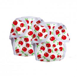 Culotte de protection Taille unique - Pommes - Lot de 2