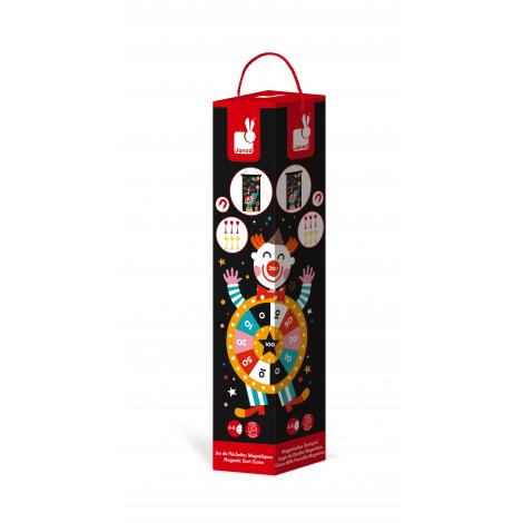 Jeu de fléchettes magnétiques Circus à partir de 4 ans