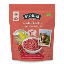 Coeurs de fraises Bio A partir de 12 mois 125 g