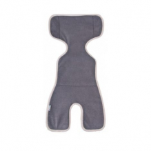 Protège siège auto avec filet respirant 3D - Gris