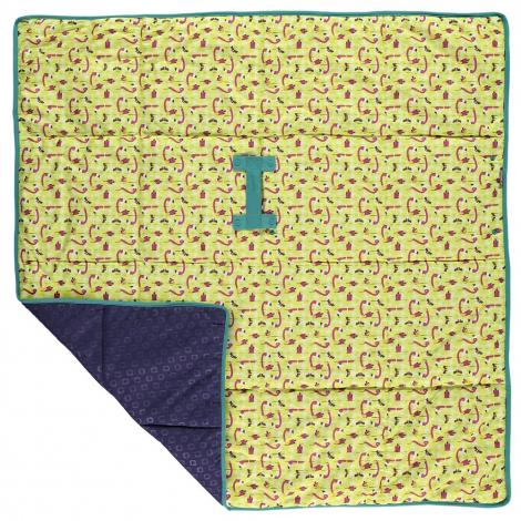 Tapis de jeu - flamants roses