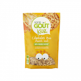 Céréales Bio pour enfant - Muesli miel - 300 g