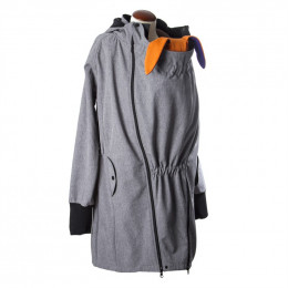 Veste de portage légère SoftShell - Heather grey