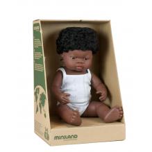 Poupée africaine fille - dès la naissance - 38 cm