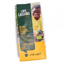 Café Bio et Fair Trade moulu Kivu - 250 g