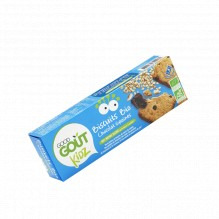 Biscuits Bio Chocolat Graines 110 g