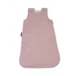 Gigoteuse été en coton bio - Vieux rose étoilé TOG 1 / Prématuré
