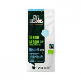 Café Bio et Fair Trade moulu - Discret déca - 250 g