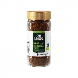 Café lyophilisé Bio et Fair Trade - Pur Arabica Colombie Mano Mano - 100 g