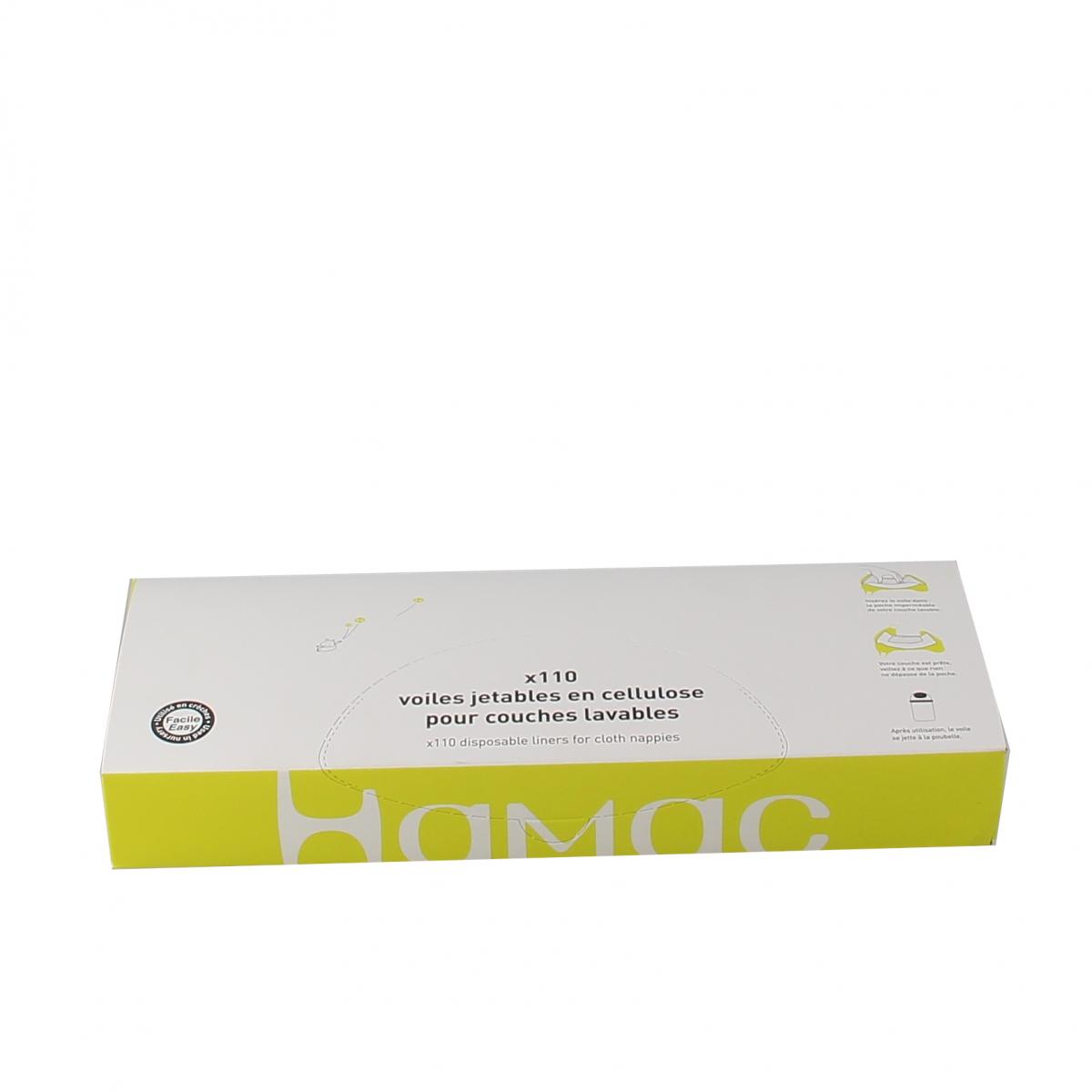 Hamac x110 Voile jetable de protection pour couche lavable