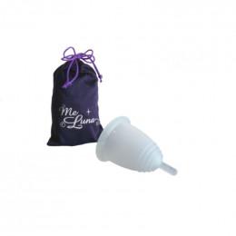Coupe menstruelle classique - Tige - transparent
