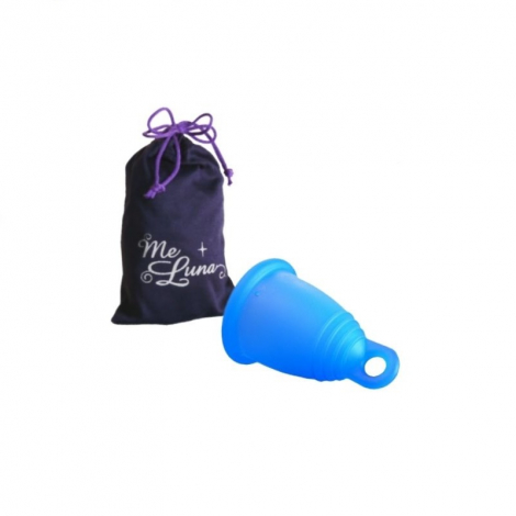 Coupe menstruelle classique - Anneau - bleu