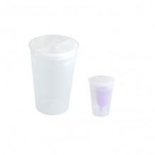 Stérilisateur rigide pour coupe menstruelle - blanc