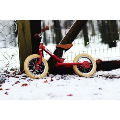 Trybike 2-en-1 vintage rouge - draisienne