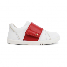 Chaussures I walk - Boston Trainer White + Red - 635306