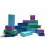 Super bricks - 24 briques en carton - à partir de 3 ans
