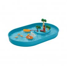 Plan d'eau avec îlot - à partir de 3 ans