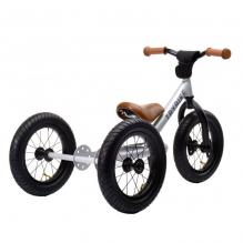 Trybike 2-en-1 gris métallisé - tricycle