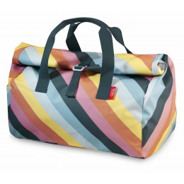 Sac week-end Flip Stripe Rainbow